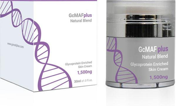 GcMAFplus 1500ng natural range skin cream