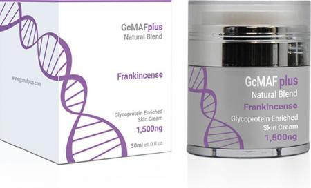 GcMAFplus natural range 1500ng skin cream with Frankincense