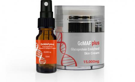 15,000ng cream + 20,000ng spray GcMAF pack